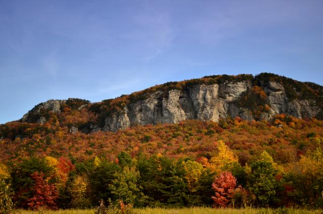 Moore's Wall, Hanging Rock. Photo courtesy North Carolina State Parks.