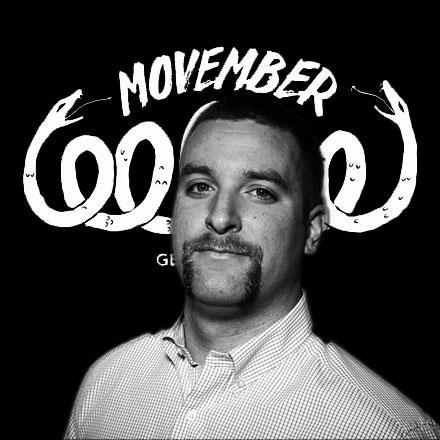 Matt's magnificent mustache from last year.