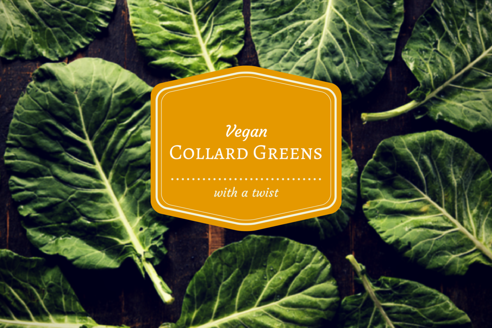 Down Home Vegan Collard Greens with a Smoky Twist
