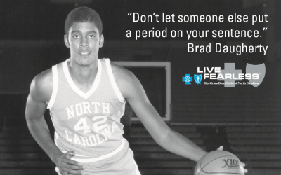 Live Fearless: Brad Daugherty on Coach Dean Smith, Success, and Moving Forward