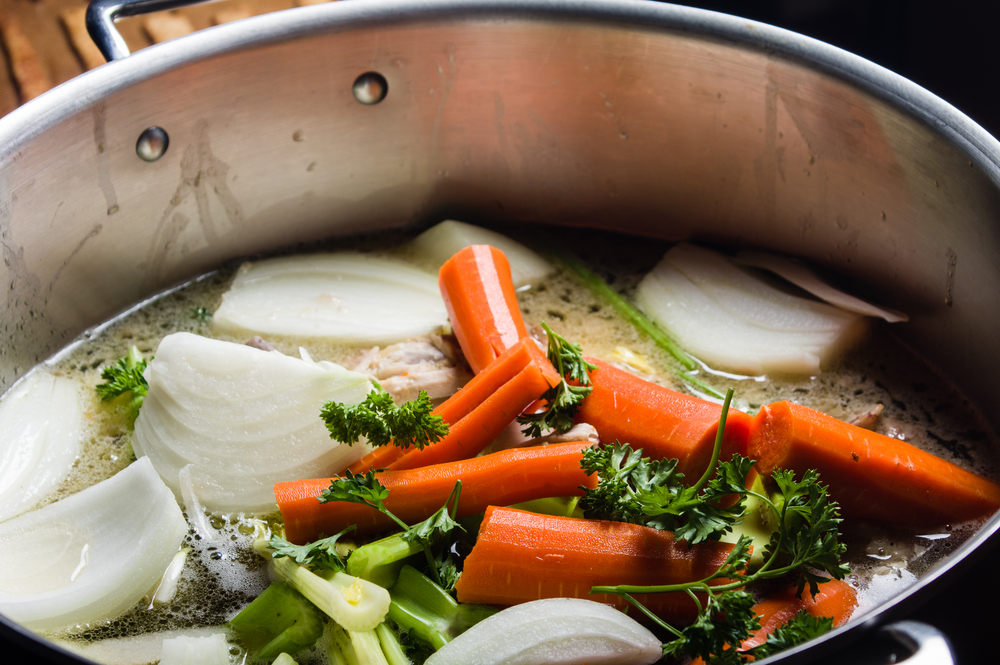 ... Healthy Pantry: How to Make Perfect Vegetable Stock | @BCBSNC