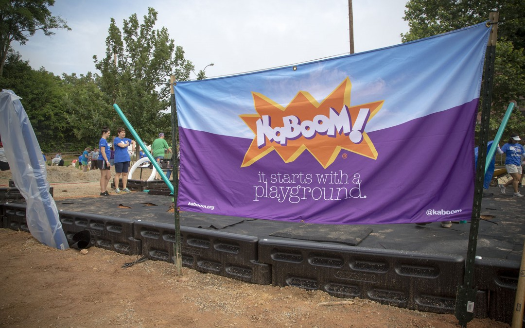 How Do You Build a Playground in a Single Day? Just Watch. [Video]