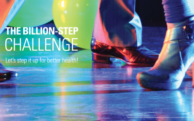 Our Employees Are Walking a Billion Steps Toward Better Health