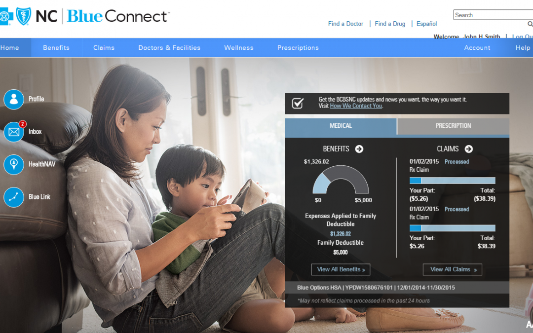 Need Customer Service Help?  Visit Blue Connect First.