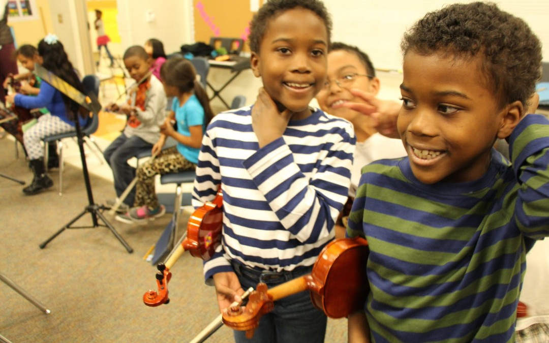 Kidznotes: Giving the Gift of Music Education in Wake and Durham Counties