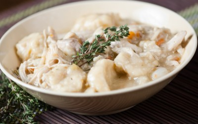 Classic Southern Chicken and Dumplings