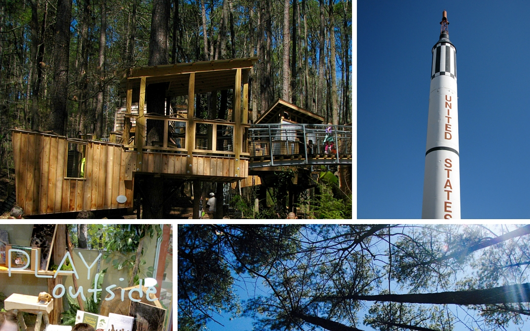 A Look Inside Hideaway Woods at the Museum of Life and Science in Durham