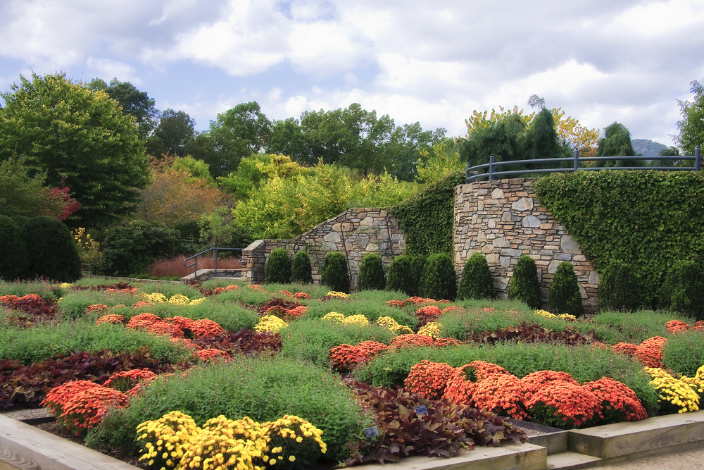 The NC Arboretum in Asheville. Image: Shutterstock