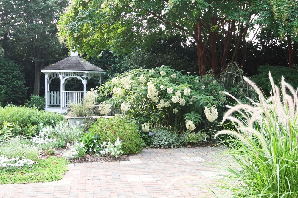 The famous gazebo at the JC Raulston Arboretum in Raleigh. Image: Shutterstock