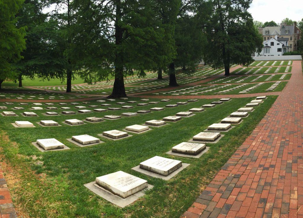 Moravian graveyard
