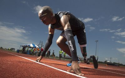 North Carolina Runner is On Track for Greatness at the Paralympic Games