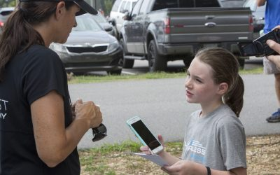 Mia Hamm Inspires a Fourth-Grader to Live Fearless in School, Soccer and Blogging