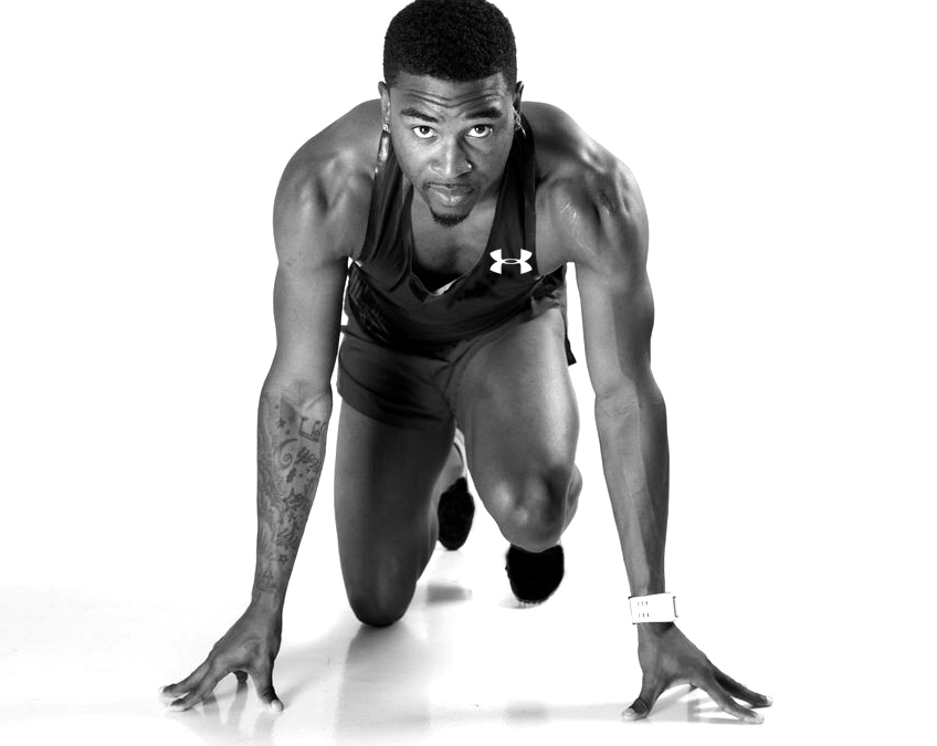 Sprinter Manteo Mitchell's Leg Was Broken – But Not His Spirit