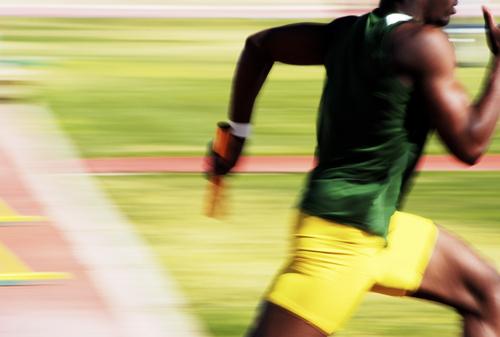 Sprinter Manteo Mitchell's Leg Was Broken – But Not His Spirit