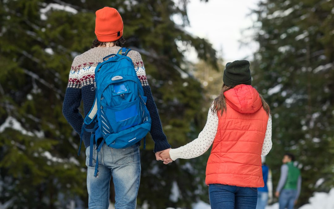 How to Stay Warm Outside on the Trails this Winter