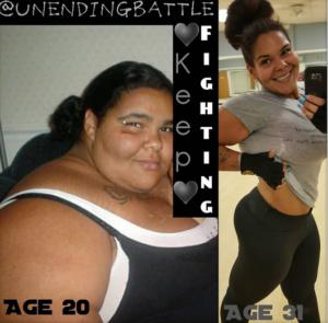 weight loss joruney