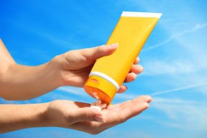 PROTECT YOURSELF WHILE PLAYING IN THE SUN
