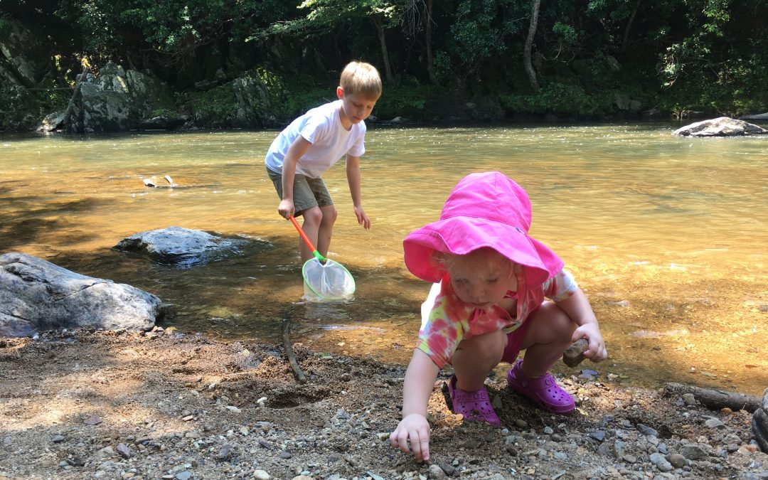 Get your kids outside – but protect their health
