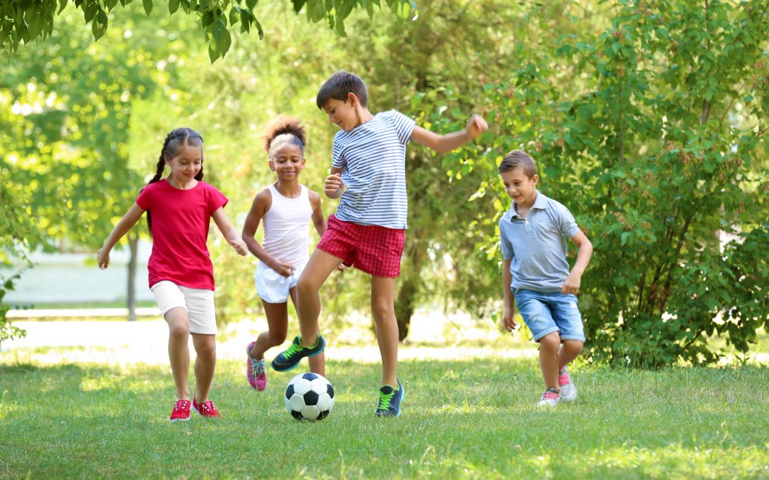 How parents can help kids be fit and healthy