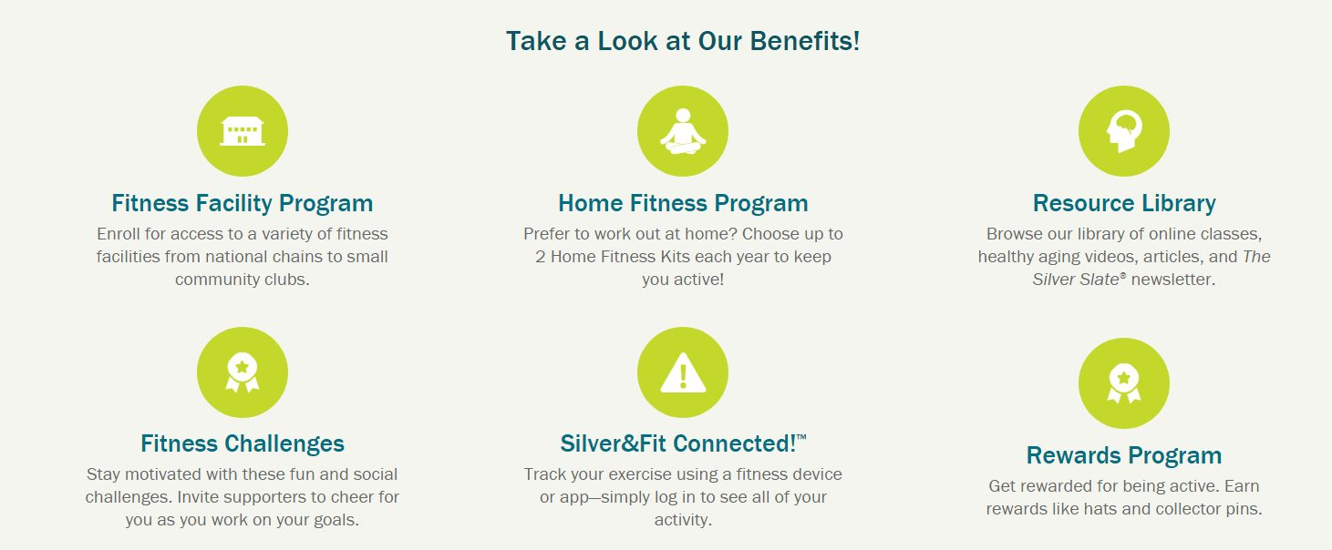 Get Fit for free with Silver and Fit