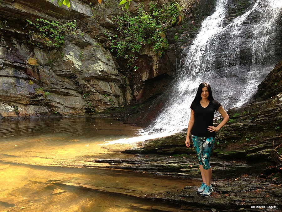 Photo: Lower Cascades at Hanging Rock State Park/Michelle Rogers