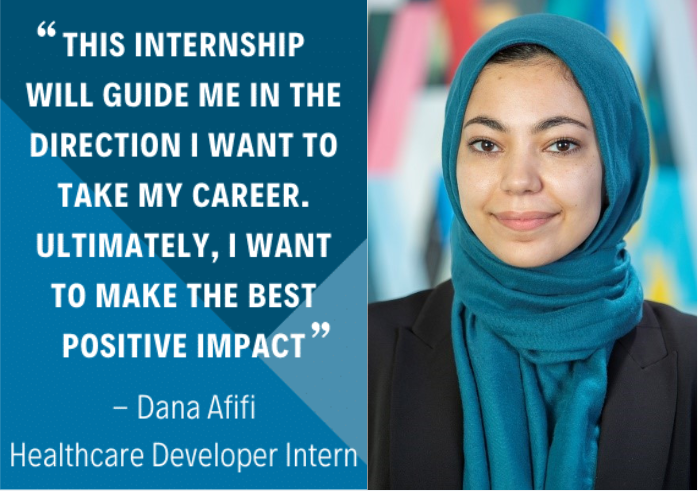 Summer intern Dana Afifi creates our Value playbook