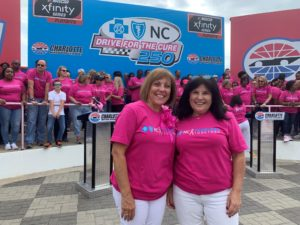 Breast Cancer Awareness at Charlotte Motor Speedway