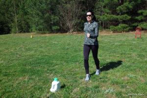 backyard workout jog