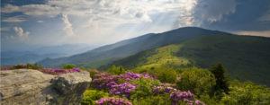 Landscape Blue Ridge Mountains