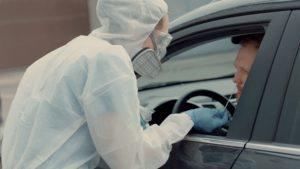 man tested for coronavirus