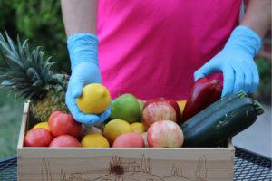 Box of produce
